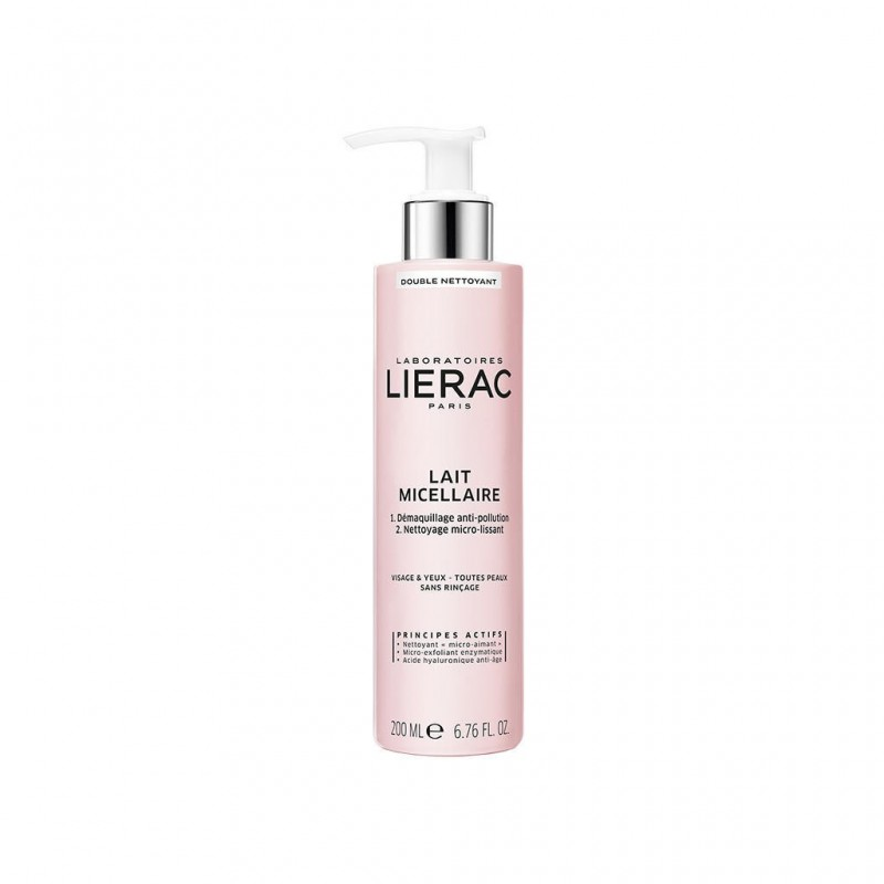 Lierac Double Cleansing Micellar Milk Face and Eyes